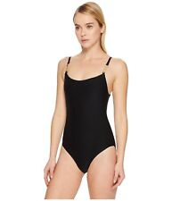 Kate Spade New York 6610 Womens Black One-Piece Swimsuit Size XS