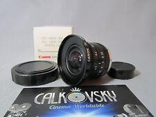 CANON SUPER WIDE ANGLE! FAST! 1.6/3.5mm C-MOUNT LENS BOLEX 16MM MOVIE CAMERA