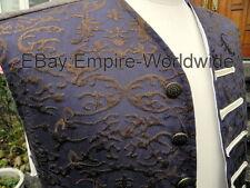 JACK SPARROW OST PAISLEY EMBROIDERED SILK VEST, waist coat costume pirates 4, 5
