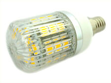 Lampada LED E14 12V 24V 4W=35W Bianco Caldo 27 SMD 5050 Per Cimitero Segnalazio