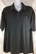 Izod Mens Golf Polo short sleeve shirt cotton size XL Jack Daniels #7 Gray
