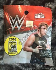 2016 SDCC Comic Con Exclusive WWE Mighty Minis Figure Dean Ambrose -UNOPENED Bag