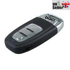 """3 BUTTON SMART REMOTE KEY CASE WITH BLADE FOR AUDI A3 A4 A5 A6 A7 """"WITH LOGO"""""""