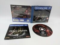 Sega Dreamcast Dino Crisis (UK PAL) - Complete With Manual - Free P&P