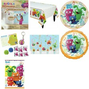Ugly Dolls Party Favor Game Decoration Banner Tableware Cups Plates TableCover