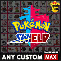 Pokemon Sword & Shield - Any Custom 6IV - Ultra Shiny Legendary All Pokedex DLC!