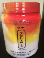 Zurvita Zeal for Life 30 Day Wellness Canister Tropic Dream 420 grams