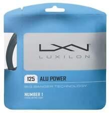 NEW Luxilon ALU POWER BIG BANGER 16L (1.25) Tennis String Set SILVER Pack