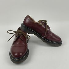 Dr. Martens Work Oxford Shoes Slip Resistant Air Cushion Burgundy Men's Size 6