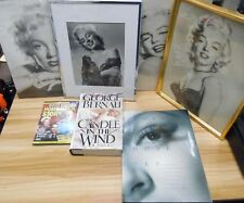 Marilyn Monroe Lot of 7 2 books 1 DVD and 2 Pictures 2 framed 020918DBL