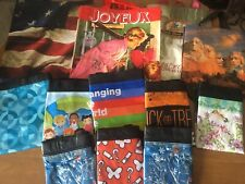 Reusable shopping bags; Lot of 18