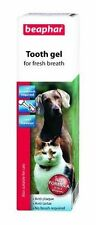 Beaphar Tooth Gel for Cats & Dogs  No Brushing Required 3 PACK OFFER