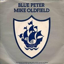 7inch MIKE OLDFIELD blue peter UK 1979 + PS EX