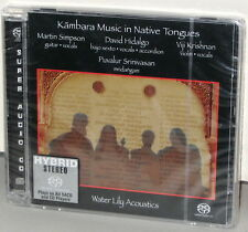 WATER LILY SACD WLA-CS-63: KAMBARA Music - Hidalgo, Simpson, etc USA 2002 SEALED