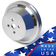 Big Block Ford Water Pump Pulley 429 460 1V BBF Billet Aluminum 1 Groove V-Belt