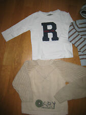 Lot 3 ans 36 mois 3 articles TAPE A L'OEIL TISSAIA KIMBALOO pull gilet tshirt ML