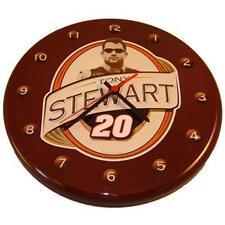 "NOSTALGIC TIN NASCAR #20 TONY STEWART - 12"" WALL CLOCK"