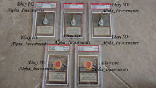 5 x PSA 10 GEM MINT  UNLIMITED Mox Pearl and mox Ruby .....women love jewelry...