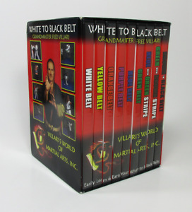 Fred Villari Martial Arts - White To Black Belt - Karate Training - 9 DVD Set
