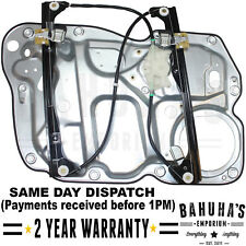 WINDOW REGULATOR FOR VW TOURAN 1T1, 1T2, 1T3 2003>ON FRONT LEFT SIDE WITH PANEL
