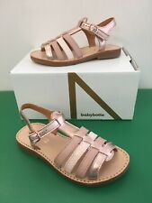 BabyBotte Ylona Girl Sandals In Nude with Rose Gold ( New Season )