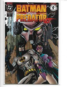 Batman/ Predator Series II Comic Book Set of 4 Issues 1--4 Near Mint- 9.2 RARE!