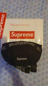 Supreme Waist Bag (SS18) Black - Marsupio / Tracolla