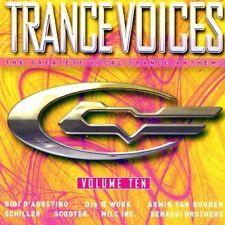 Trance Voices 10 (2004) Gigi D'Agostino, Novaspace, DJs @ Work, Scooter.. [2 CD]