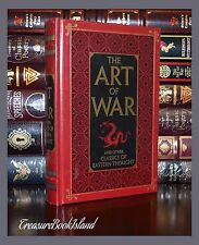 Art of War Tao Te Ching Mencius Eastern Classic Sealed Leather Bound Collectible