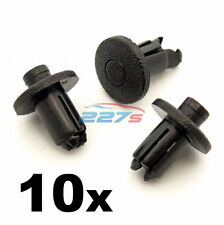 10x Plastic Bumper Clips for Toyota, 9mm Hole, 90467-09139