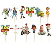 TOY STORY 4 CUPCAKE CAKE TOPPER TOPPERS party balloon decoratrion supplies