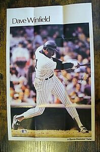 """MLB - Sports Illustrated Poster (11"""" x 17"""") - Dave Winfield - 1986 - NEW"""