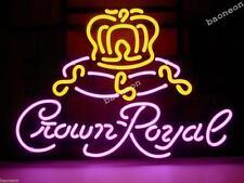 New Crown Royal Classical Beer Bar Pub Display Real Neon Light Sign FREE SHIPING