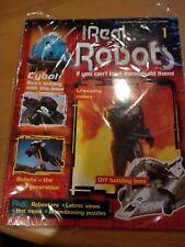 ISSUE 1 Eaglemoss Ultimate Real Robots Magazine. Still sealed.