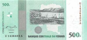 Congo D R  500  Francs  30.06.2010  P 100a  Series U-A Uncirculated Banknote L22