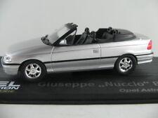 """IXO #126 Opel Astra F Cabriolet (1992) """"Bertone"""" in silbermetallic 1:43 NEU/PC"""