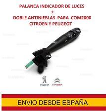 palanca COM2000 Citroen C4 C5 C2 Peugeot  Mando indicador luces interruptor