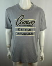 Lucky Brand Detroit Muscle Men's T shirt L Camaro by Chevrolet Gray NWT