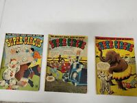 Super Circus Greatest Comic Show on Earth 3 4 5 May July September 1951 Golden A