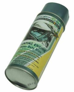 73-74 Pontiac Firebird Trans Am Super Duty SD455  Engine Enamel Blue Spray Paint
