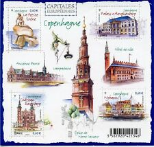 TIMBRE FRANCE NEUF BLOC  FEUILLET N° F4637 ** CAPITALES EUROPEENNES COPENHAGUE