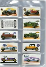 In Plastic Sleeves Motor Cars/Bikes Collectable Tea Cards