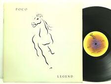"""POCO Original 1978 Legend w/ """"Crazy Love"""" LP Vinyl Record Album"""