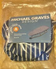 Michael Graves Blue Cotton Countertop Ironing Board Cover New In Pkg