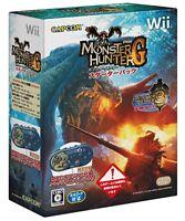 Nintendo Wii Monster Hunter G Starter Pack Japan Game Japanese