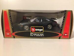 BURAGO Porche 911 Carrera au 1/24