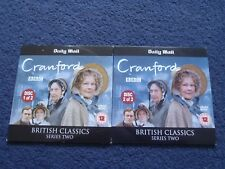 2 Promotional DVD's BBC Cranford Discs 1 and 2Judi Dench
