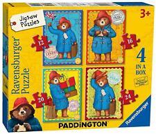 Ravensburger PADDINGTON BEAR 4 IN A BOX JIGSAW PUZZLES Toys Games BN