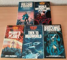 More details for 5 star trek books death's angel vulcan! world without end perry's planet job lot
