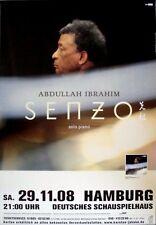 SENZO, ABDULLAH - 2008 - Konzertplakat - Solo Piano - Tourposter - Hamburg
